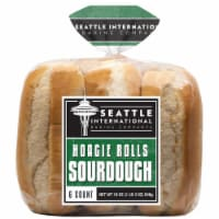 Seattle International Baking Company Sourdough Hoagie Rolls 6 Count