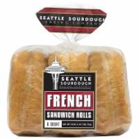 Seattle Sourdough Baking Co. French Sandwich Rolls - 6 ct / 18 oz