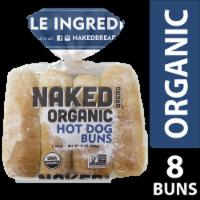 Naked Bread Organic Hot Dog Buns