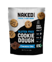 Naked Bread Gluten Free Cookie Dough - Chocolate Chip