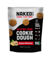 Naked Bread Gluten Free Ginger Molasses Cookie Dough