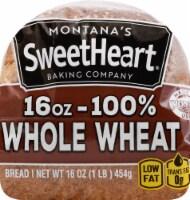 Montana's Sweetheart 100% Wheat Bread