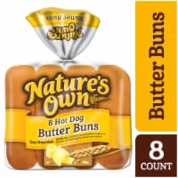 Nature's Own Butter Hot Dog Buns
