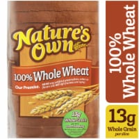 Nature's Own 100% Whole Wheat Sliced Bread