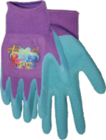 Midwest Quality Gloves Shimmer and Shine Kids' Gripping Gloves - Blue/Purple