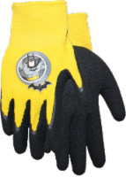 Midwest Quality Gloves Batman Kids' Gripping Gloves - Black/Yellow