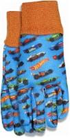 Midwest Quality Gloves Hot Wheels® Kids' Garden Jersey Gloves - Blue - 1 ct