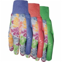 Midwest Quality Gloves Jersey 'N More Women's Gripping Garden Gloves - Assorted - 1 ct