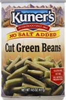 Kuner's Cut Green Beans - No Salt Added - 14.5 oz