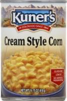 Kuners Premium Golden Sweet Cream Style Corn - 14.75 oz