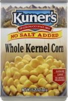Kuner's No Salt Added Whole Kernel Corn - 15 oz