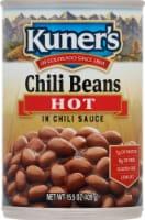 Kuner's Hot Chili Beans in Spicy Chili Sauce - 15 oz
