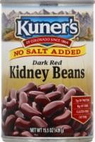 Kuner's No Salt Added Dark Red Kidney Beans - 15 oz