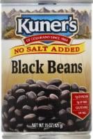 Kuner's No Salt Added Black Beans - 15 oz