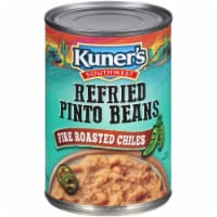 Kuner's Southwest Refried Beans with Fire Roasted Chilies - 16 oz