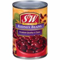 S&W Premium Kidney Beans - 15.25 oz