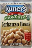Kuner's Organic Garbanzo Beans