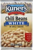 Kuner's White Chili Beans in Chili Sauce - 15.5 oz