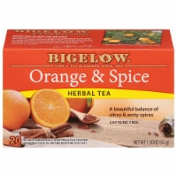 Bigelow Orange & Spice Herbal Tea Bags