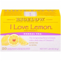 Bigelow I Love Lemon with Vitamin C Herbal Tea Bags