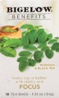 Bigelow Benefits Focus Moringa and Black Tea Bags