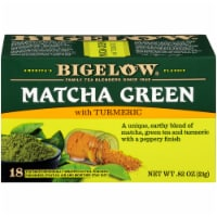 Bigelow Macha Green Tea Bags with Turmeric