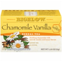 Bigelow Chamomile Vanilla and Honey Herbal Tea