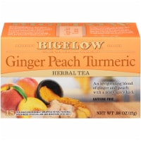 Bigelow Ginger Peach Turmeric Herbal Tea Bags