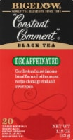 Bigelow Constant Comment Decaffeinated Black Tea Bags