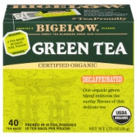 Bigelow Organic Decaffeinated Green Tea