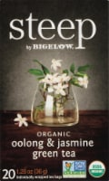 Bigelow Steep Organic Oolong & Jasmine Green Tea