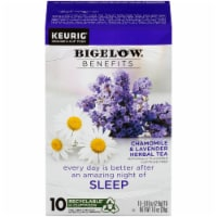 Bigelow Benefits Chamomile & Lavender Herbal Tea K-Cup Pods 10 Count