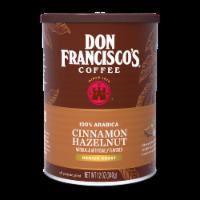 Don Francisco's Coffee Cinnamon Hazelnut Medium Roast Ground Coffee
