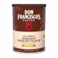 Don Francisco's Coffee Hawaiian Hazelnut Flavor Medium Roast Ground Coffee