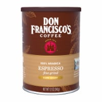 Don Francisco's Coffee Finely Ground Espresso Dark Roast
