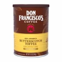 Don Francisco's Coffee Butterscotch Toffee Medium Roast