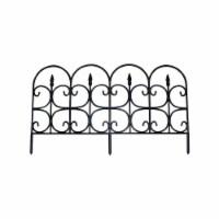 Emsco Group 2093 Medium Victorain Ornamental Gate Fencing Pack Of 24 - 24