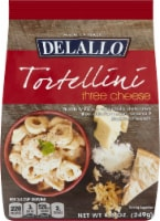 Delallo Three Cheese Tortellini Pasta