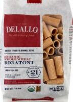 DeLallo Organic Whole Wheat Rigatoni No 21