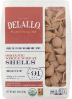 DeLallo Organic Whole Wheat Pasta Shells No 91