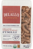 Delallo Organic Whole Wheat Fusilli No 27
