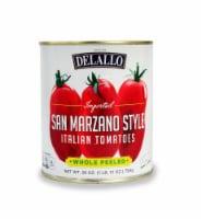 DeLallo San Marzano Style Whole Peeled Italian Tomatoes