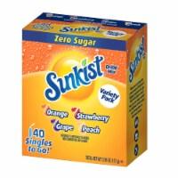 Sunkist Zero Sugar Drink Mix Variety Pack