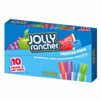 Jolly Rancher Freezer Pops 10 Count