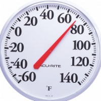 Acu-Rite® 12.5-Inch Indoor or Outdoor Thermometer - White
