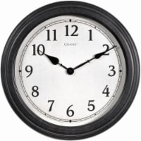 Chaney Everyday Wall Clock - Black