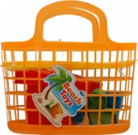 Amloid Beach Toys Basket
