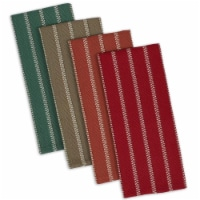 Design Imports CAMZ10187 Rustic Fall Heavyweight Dish Towels Set - Set of 4