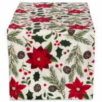 DII Woodland Christmas Table Runner - 1