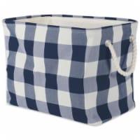 DII Denim Embroidered Jeans Napkin (Set of 6) - 1